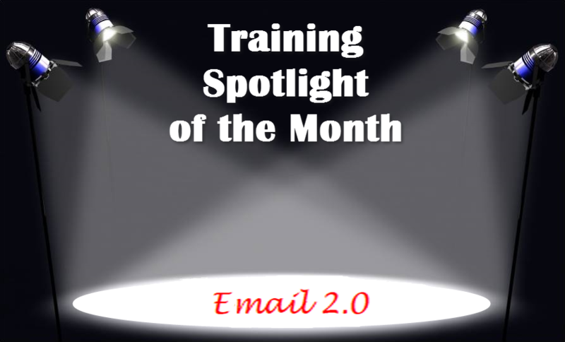 Training Spotlight Email 2.0