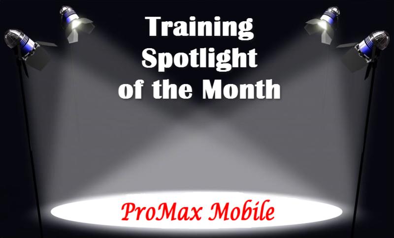 Training Spotlight ProMax Mobile