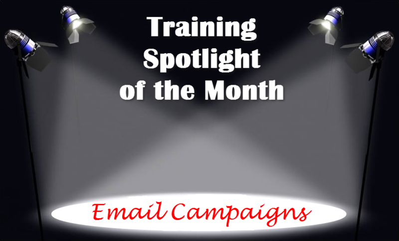 Training Spotlight Email Campaigns