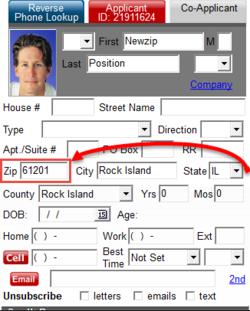 ZIP Code relocation
