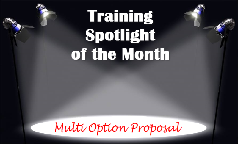 Training Spotlight Multi Option Proposal