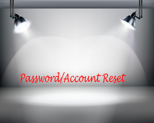 Training Spotlight Password Account Reset
