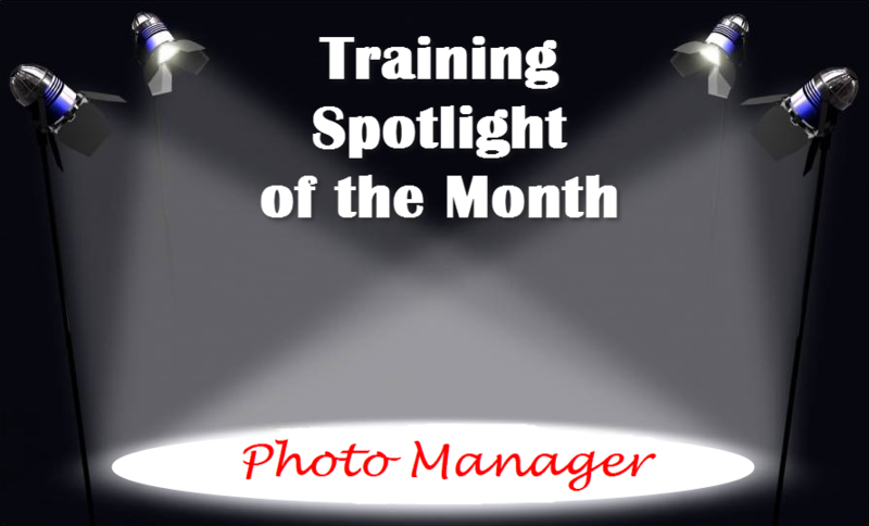 Training Spotlight Photo Manager