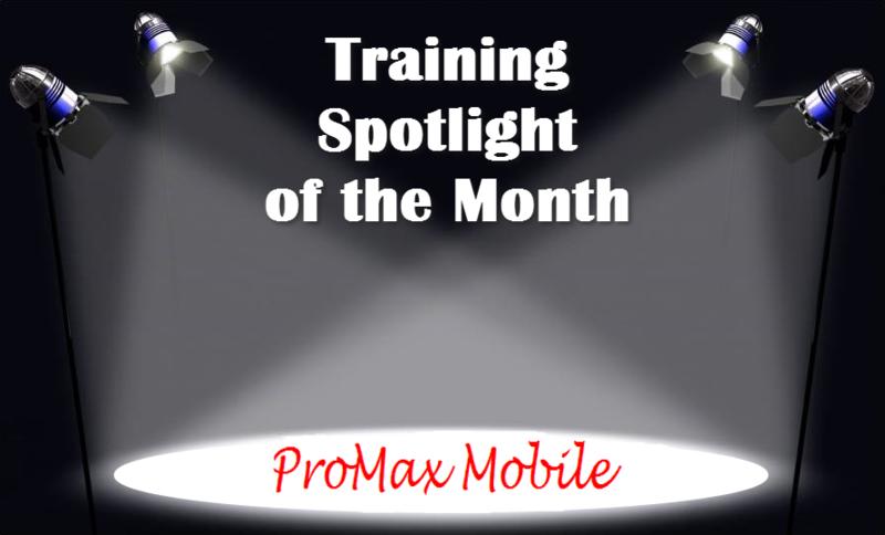 Training Spotlight ProMax Mobile2