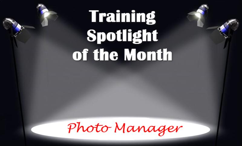 Training Spotlight Photo Manager