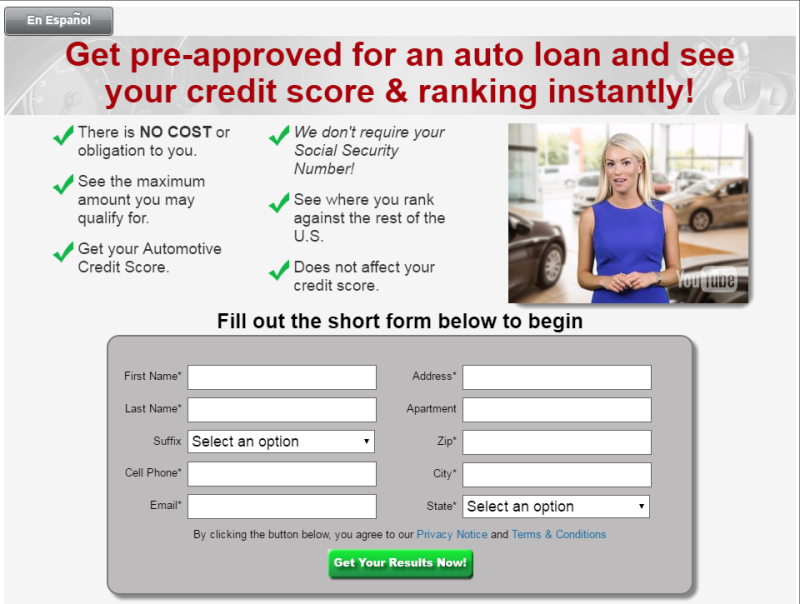 Instant Auto Credit App New Video
