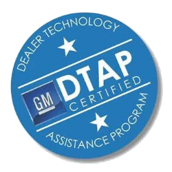 GM DTAP logo transparent