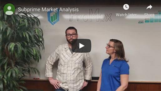 Subprime Market Analysis video screenshot