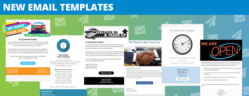 New Email Templates 2020
