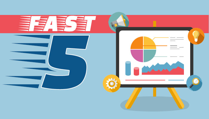 Fast 5 logo and graphic