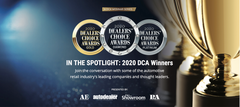 DCA Webinar Series logo