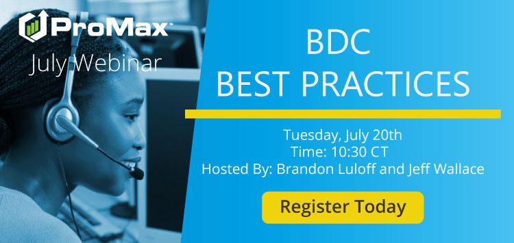 July 2021 BDC Webinar slide