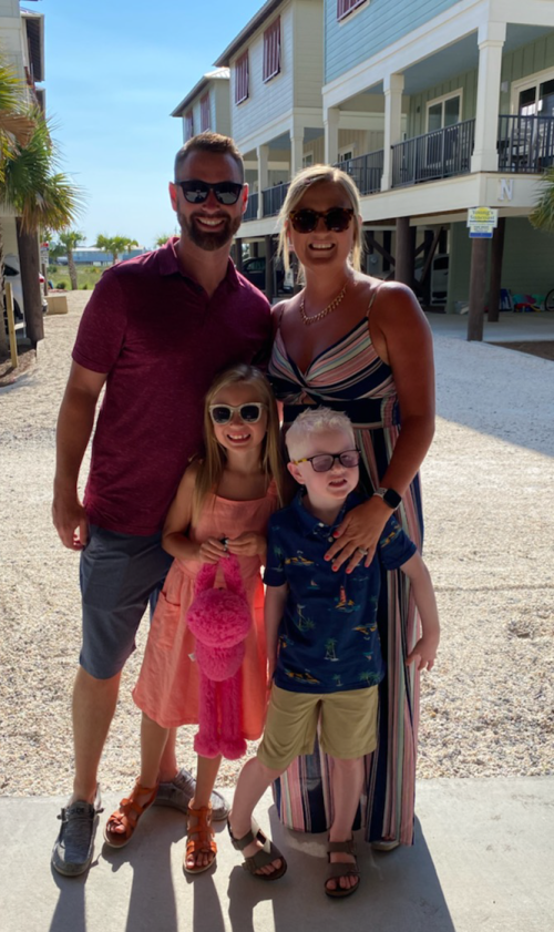 Brandon Luloff and family